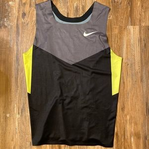 Nike track singlet/tank top (pro athlete issued)